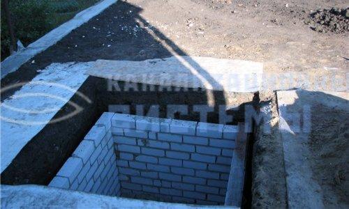 Выгребная яма из кирпича своими руками для частного дома