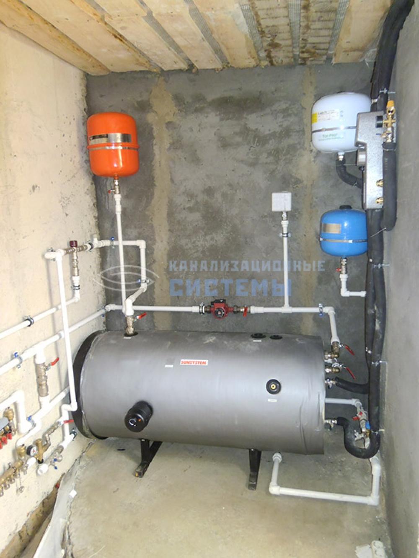 водопровод в квартире с повышающим насосом схема